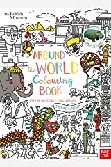 British Museum: Around the World Colouring Book (Colouring Books) Paperback