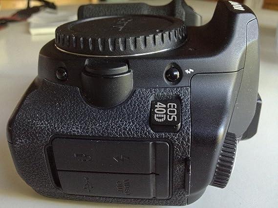 Canon EOS 40D - Cámara Réflex Digital 10.1 MP (Cuerpo): Amazon.es ...