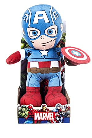 Marvel 31064 – muñeco de Peluche de Capitán América, ...