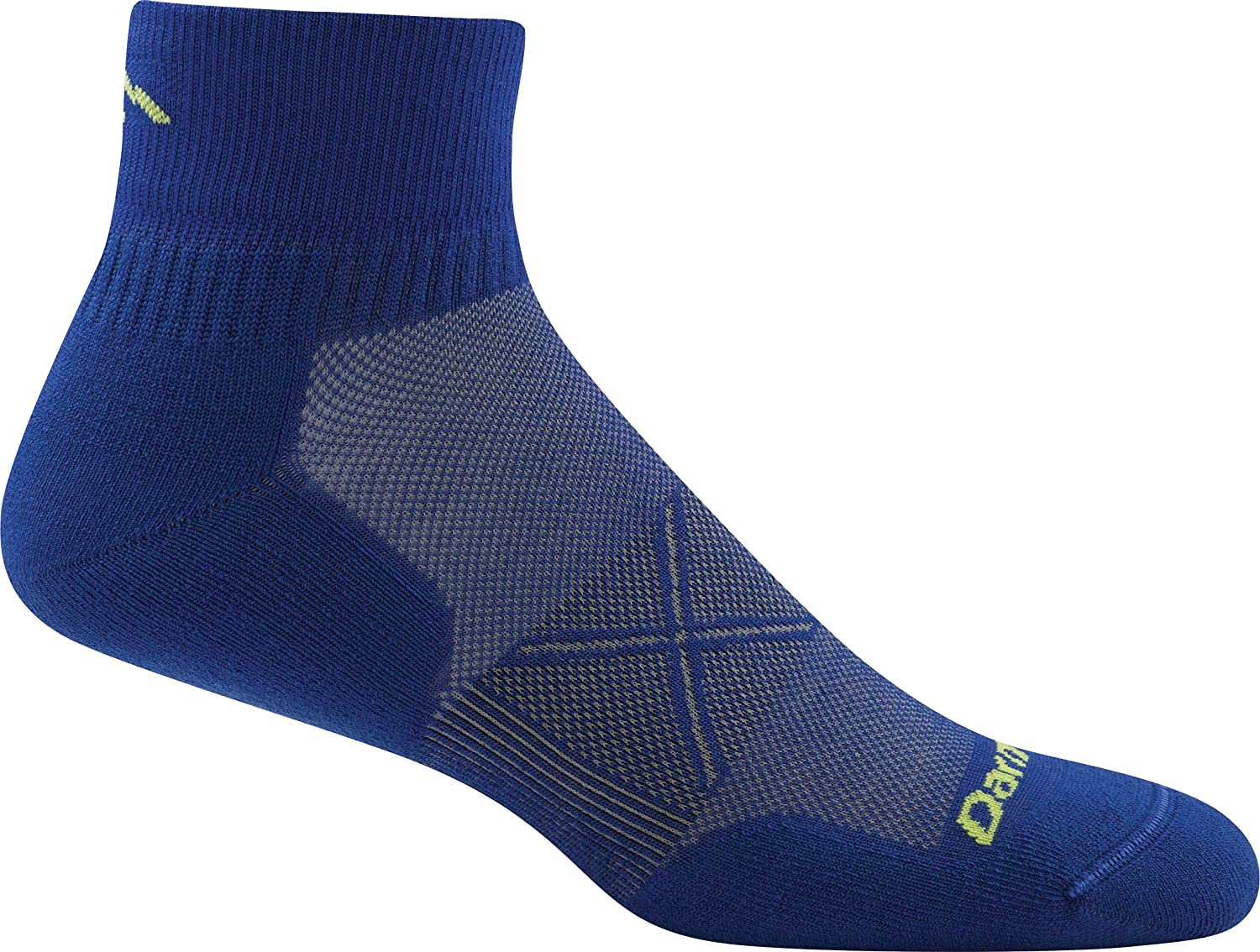 Darn Tough Men's Vertex 1/4 UL Black socks M OS