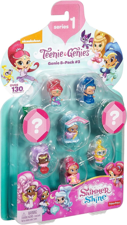 Genie 8 Pack #3 Teenie Genies Fisher-Price Nickelodeon Shimmer /& Shine