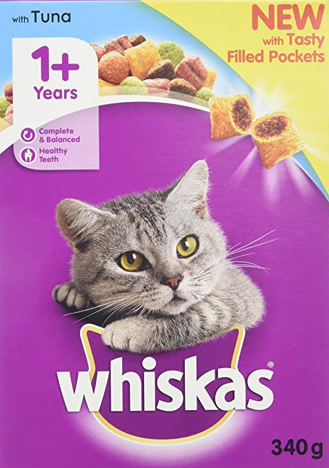 Whiskas - Comida para gatos secos