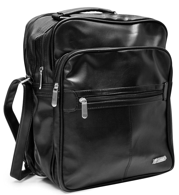 Herren Arbeitstasche Handwerker Tasche Hochformat/Querformat Umhängetasche Handwerkertasche Reisetasche Bürotasche Leder Optik Businesstasche Flugtasche Tragetasche Schultertasche Flugbegleiter