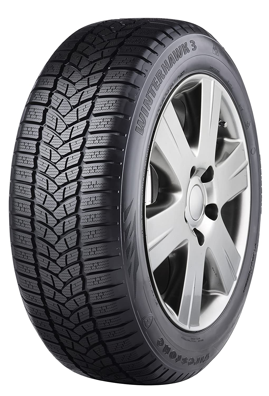 Firestone Winterhawk 3 - 165/70/R14 81T - E/C/71 - Winter Tire Bridgestone Tires