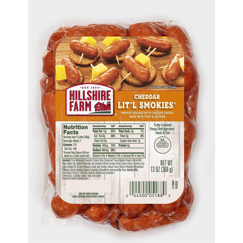 Hillshire Farm, Cheddar Lit'l Smokies, 13 oz