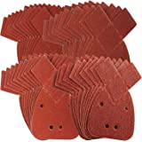 40 Mouse Sanding Sheets to Fit Black and Decker Detail Palm Sander All Grades by Silverline