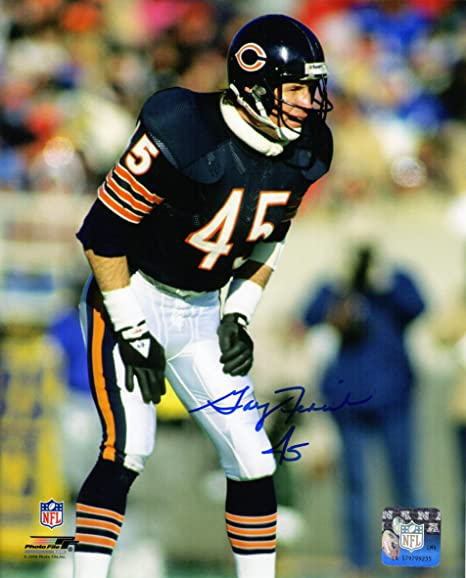 wholesale dealer cf646 7e330 Gary Fencik Signed Chicago Bears Action 8x10 Photo at ...