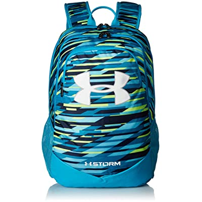 Under Armour Boy's Storm Scrimmage Backpack, Venetian Blue (448)/White, One Size Fits All: Clothing