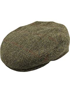 68f5d4087328c Jaxon & James Hats Tweed Flat Cap - Brown-Grey: Amazon.co.uk: Clothing