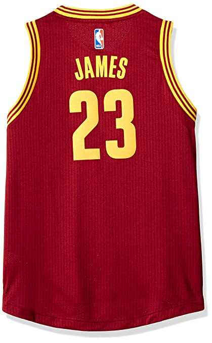 Amazon.com: LeBron James Cleveland Cavaliers Adidas Youth de ...