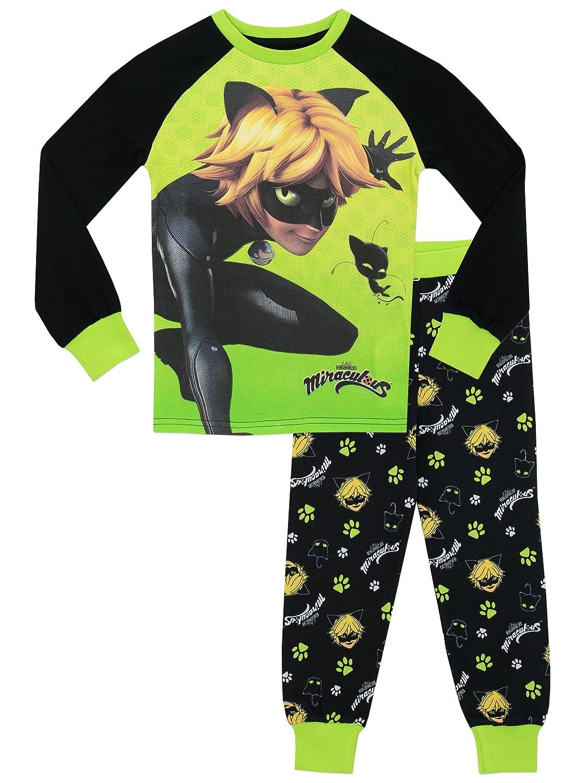 Miraculous Ladybug Boys Cat Noir Pajamas
