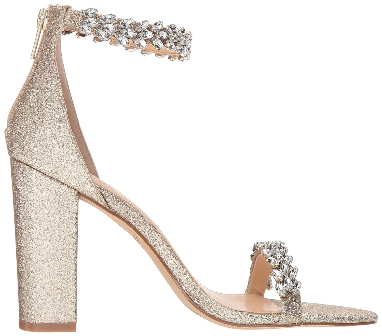1fb155a338f Amazon.com  Badgley Mischka Women s Mayra Heeled Sandal  Shoes