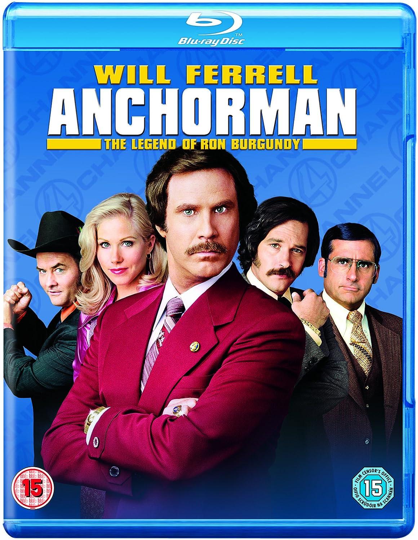 Anchorman 1 Disc Edizione: Regno Unito Italia Blu-ray: Amazon ...