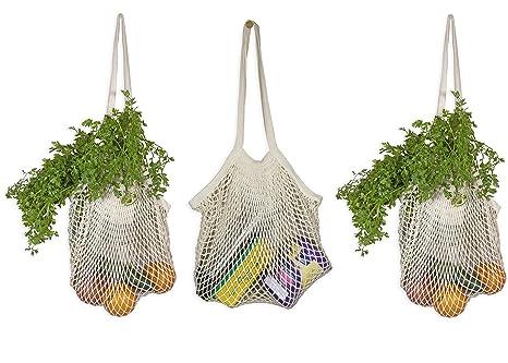 Amazon.com: Best Mesh Tote Bags – Bolsas de cuerda ...