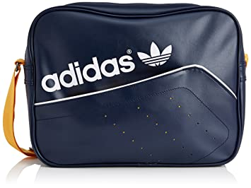 809e4df1b845 adidas Airliner Perforated Women s Bag Navy Collegiate Gold White ...