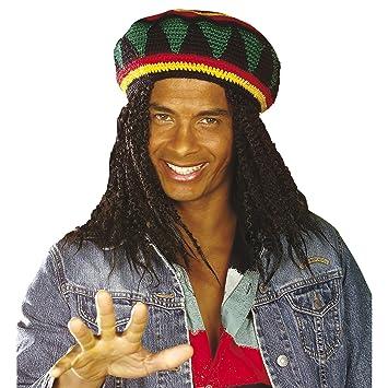 285e79055888f WIDMANN Sombrero Reggae Rasta  Amazon.es  Juguetes y juegos