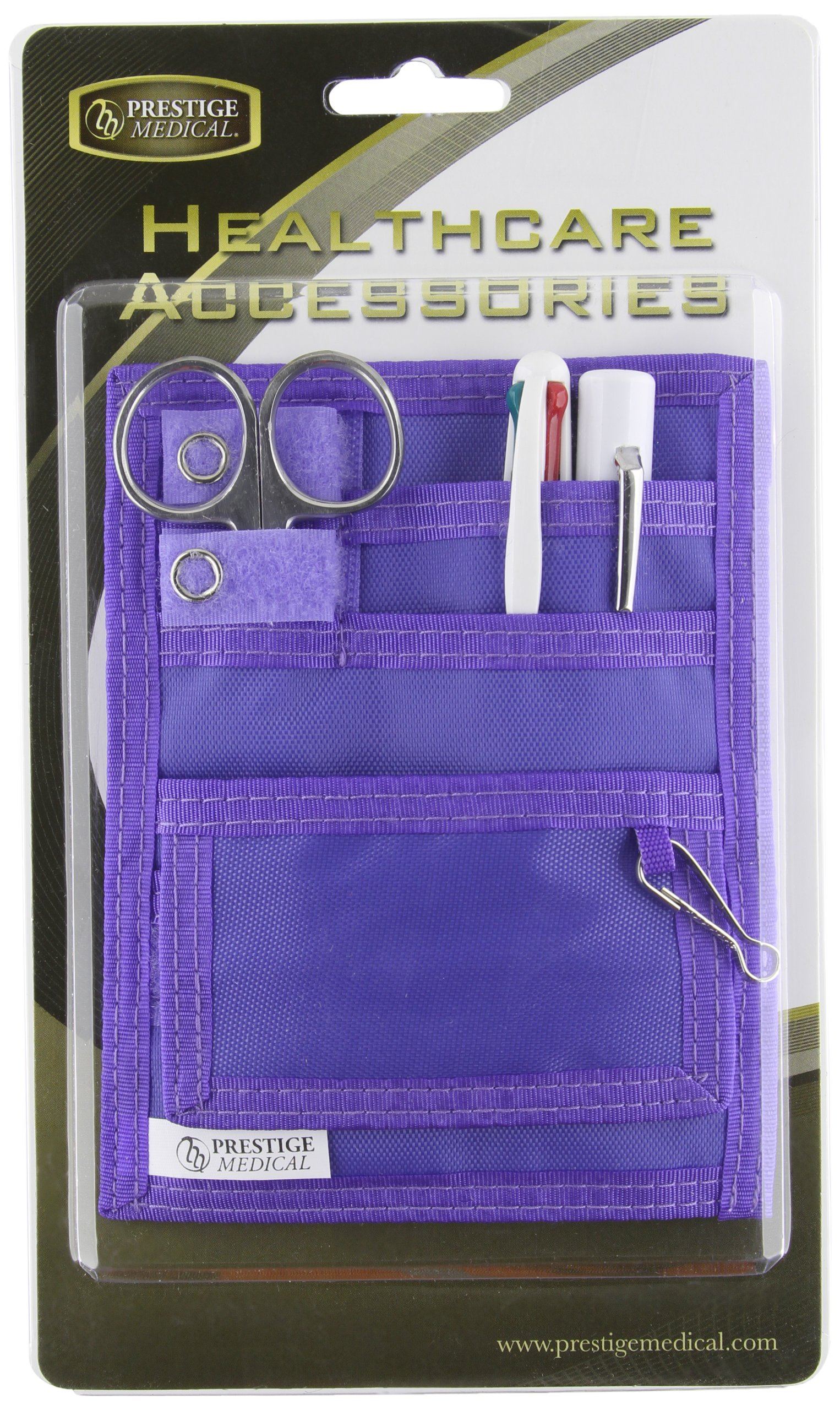 Prestige Medical Belt Loop Organizer Kit, Purple