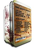 Citadel Black Zombie Apocalypse Survival Kit by Knife, Multi-tool, Fire Starter, Skull Mask, Zombie Hunting Permit, First Aid, And More