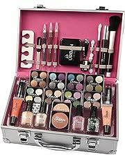 b20db200d Maletín de maquillaje Urban Beauty, 60 productos. Ideal para viajar, para  regalo,