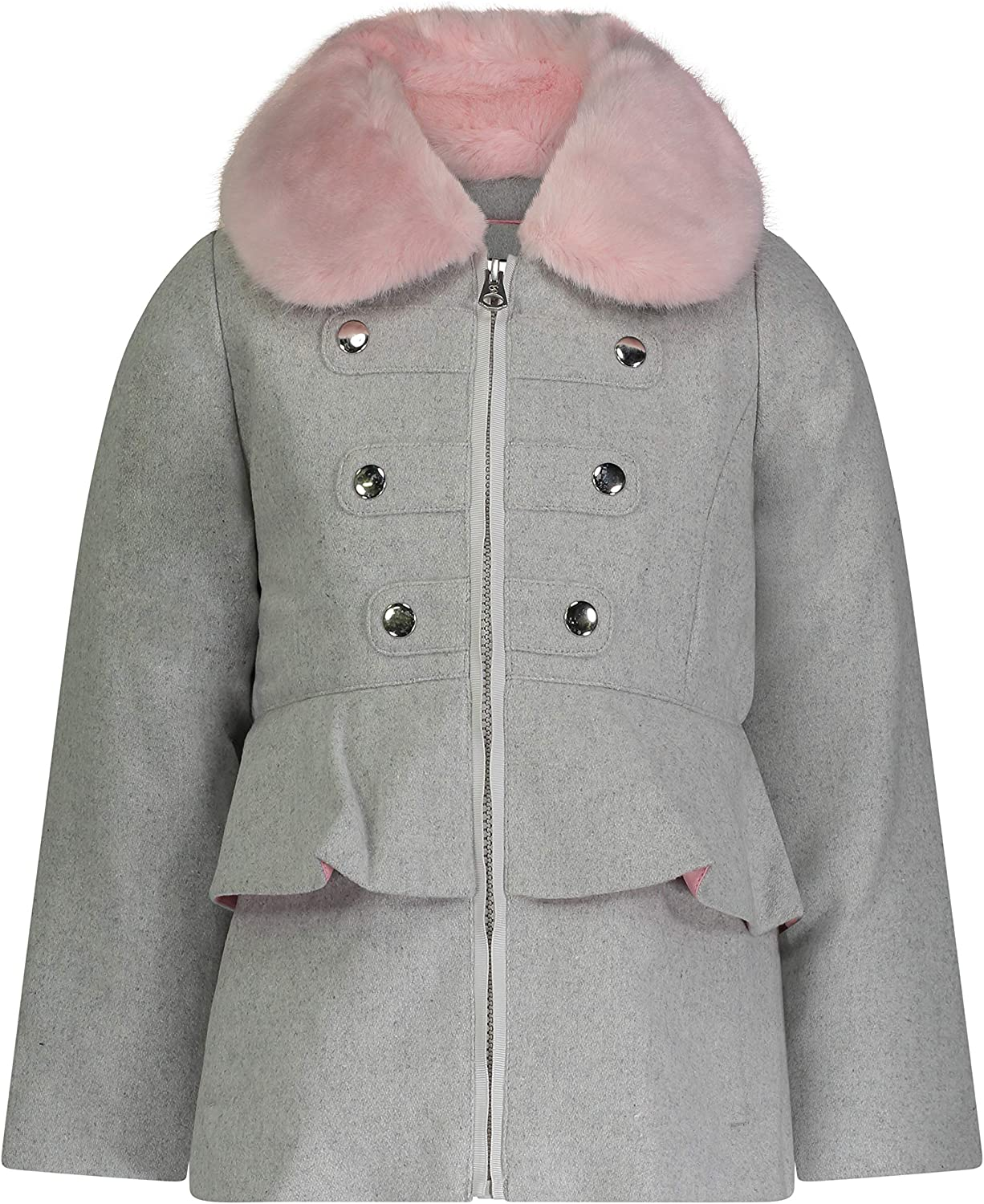Jessica Simpson Max Fashion 58% OFF Girls' Dress Coat Collar Cozy Jacket with