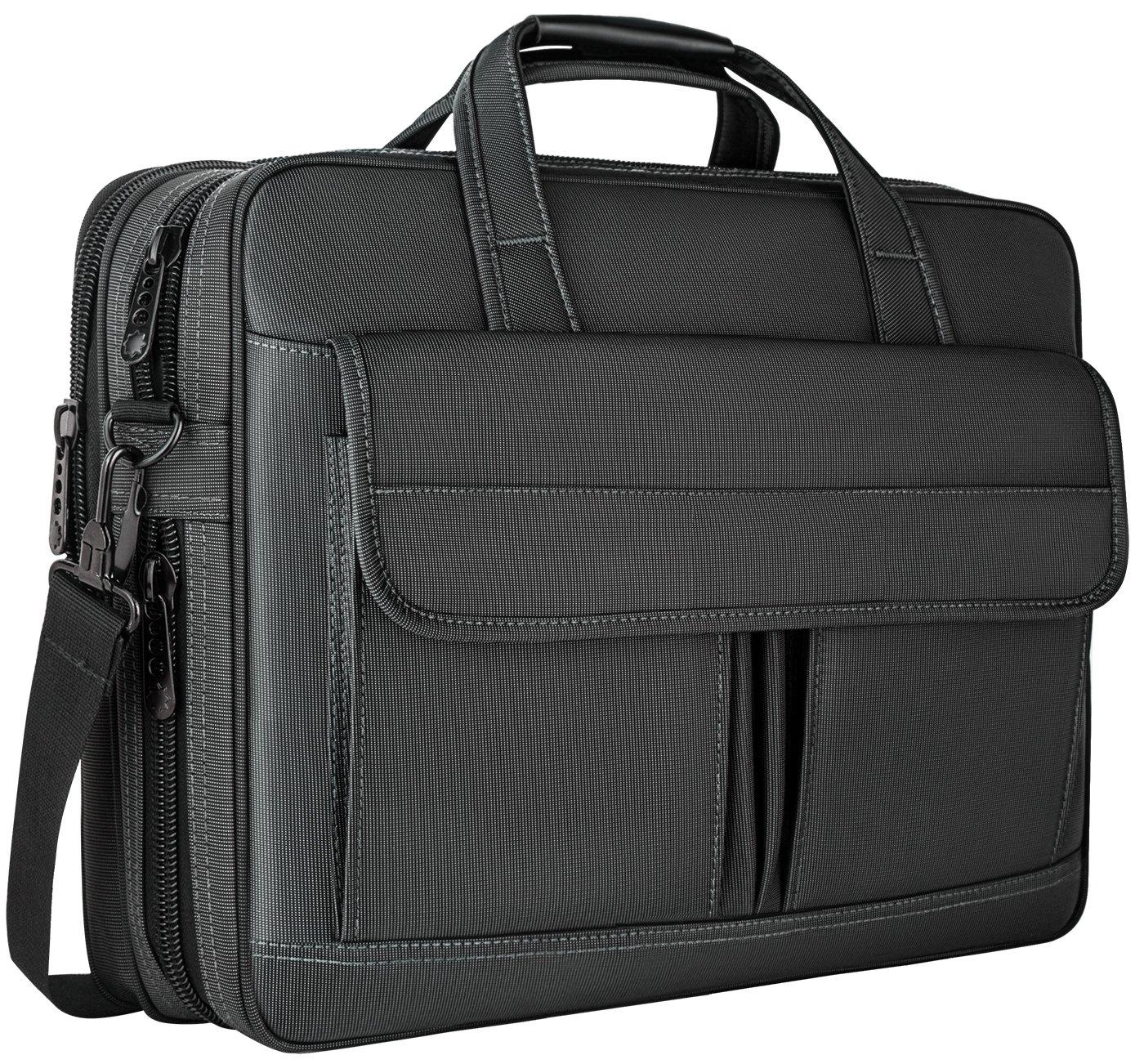 0aca3134be69 Taygeer Laptop Bag 15.6 Inch,Water Resistant Briefcase, 15inch ...