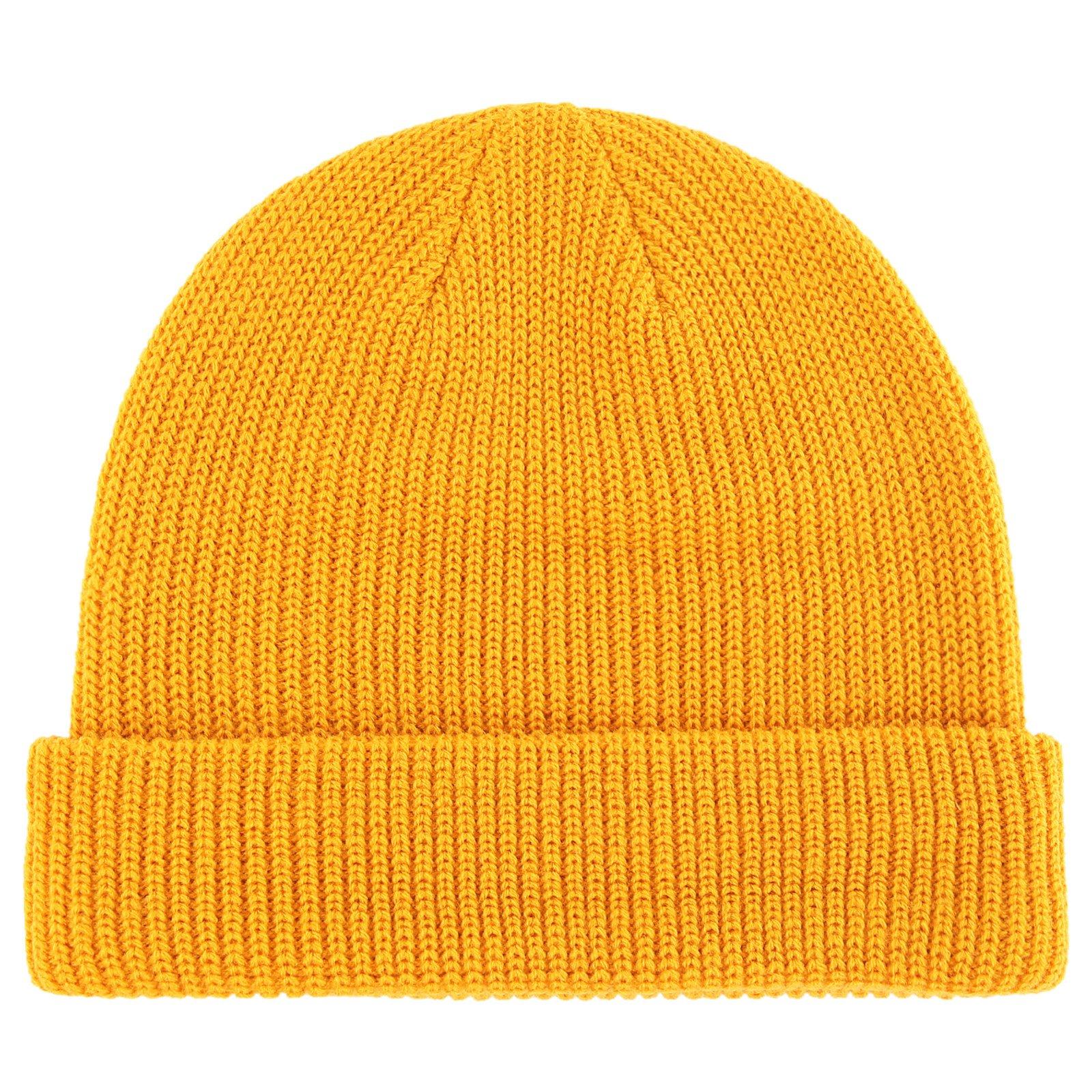 de1fa259 Connectyle Classic Men's Warm Winter Hats Acrylic Knit Cuff Beanie Cap  Daily Beanie Hat (Mustard Yellow)