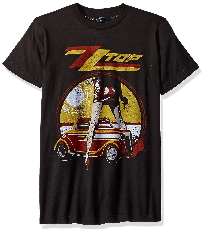 Impact Mens Zz Top Vintaged Legs Rock T-Shirt ZZT06