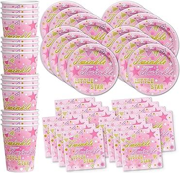 Amazon.com: Twinkle Twinkle Twinkle Little Star Rosa Fiesta ...