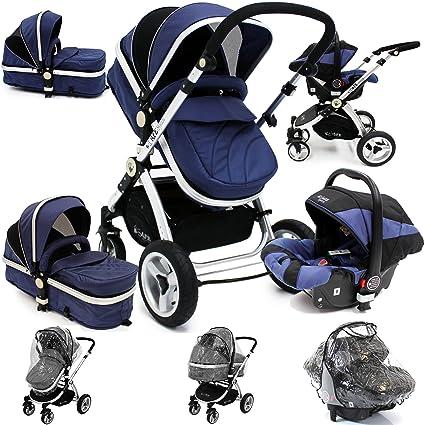 Cochecito de bebé y silla de paseo i-Safe System, 3 en 1, con ...
