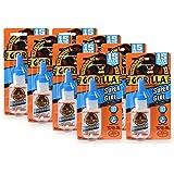 Gorilla Super Glue 15 Gram, Clear, (Pack of 8)
