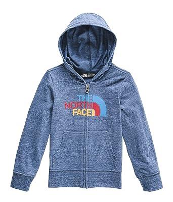 afdb89734 The North Face Kids Baby Boy's Tri-Blend Full Zip Hoodie (Toddler)