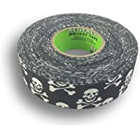 "Renfrew Patterned Hockey Tape, 1"" Wide (Skull & Crossbones, 25m)"