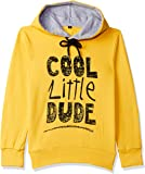 ESNINO Boys' Cotton Sweat Shirt - Yellow