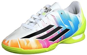 Adidas Schuhe Hallenfussballschuhe F10 Fußballschuhe IN Kinder Junior Kinder (Messi) runwhtblack