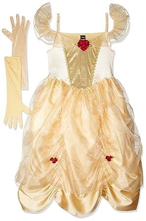 Rubieu0027s Official Ladies Disney Belle Adult Costume - Small  sc 1 st  Amazon UK & Rubieu0027s Official Ladies Disney Belle Adult Costume - Small: Rubies ...