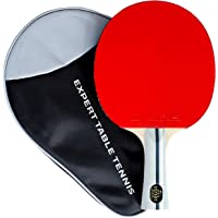 Palio Expert 3.0 Table Tennis Bat & Case - ITTF Approved, Beginner Ping Pong Racket