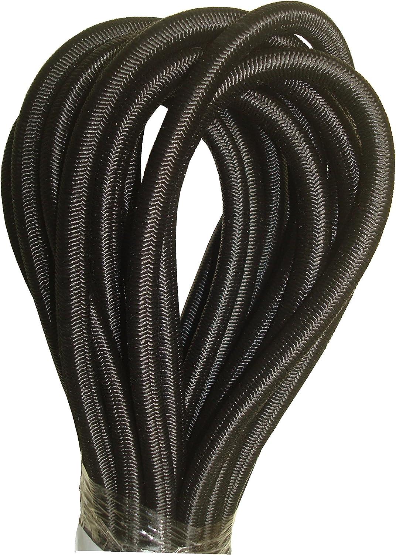 Black da 8 mm Corda elastica anti shock 20 m