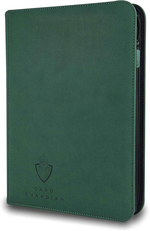 360 Card Binder-MTG Docsmagic.de Pro-Player 9-Pocket Zip-Album Dark Green
