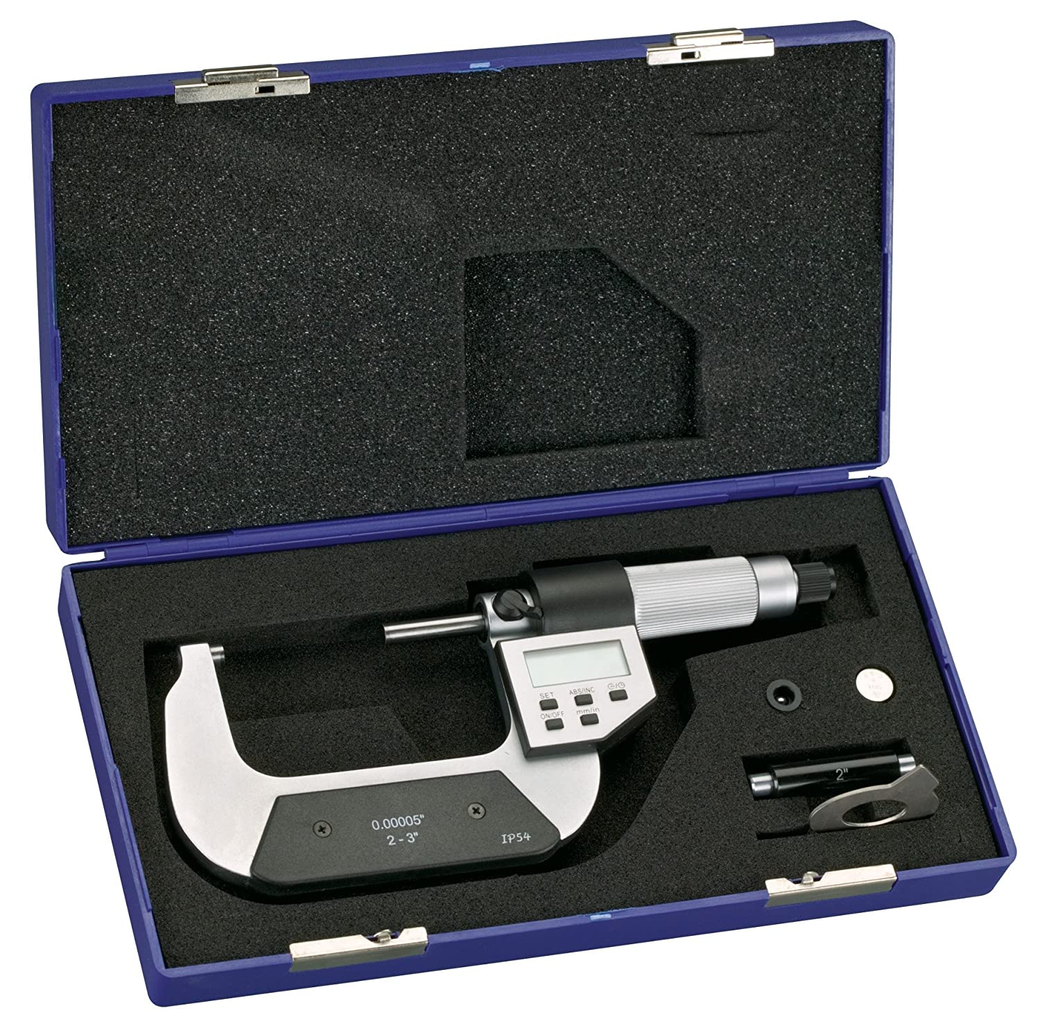 Steelex M1085 Digital Micrometer, 2 to 3-Inch
