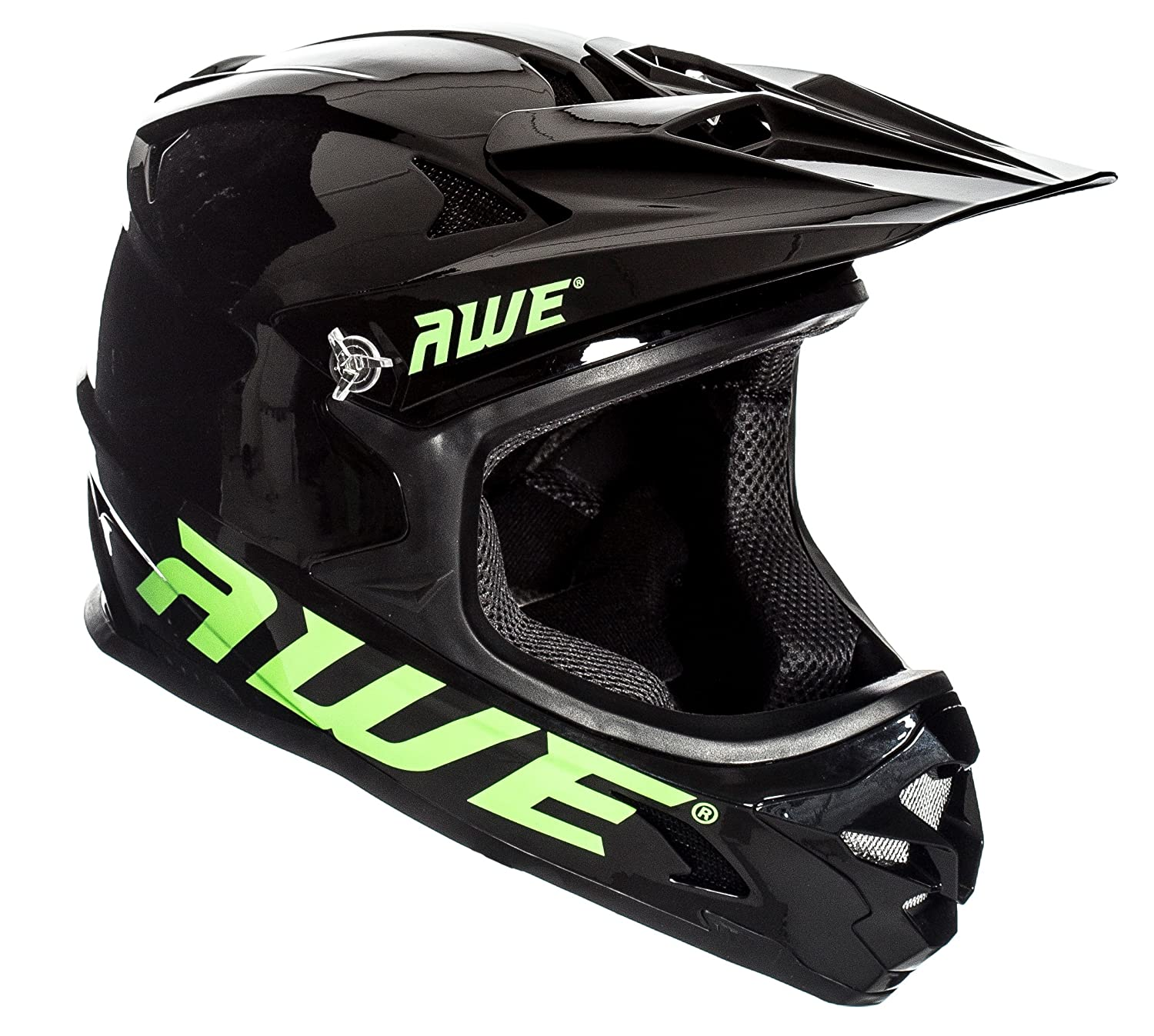 AWE® AWEBlast™ libre 5 Año Crash de repuesto * BMX Downhill casco negro Medium 56 - 58 cm