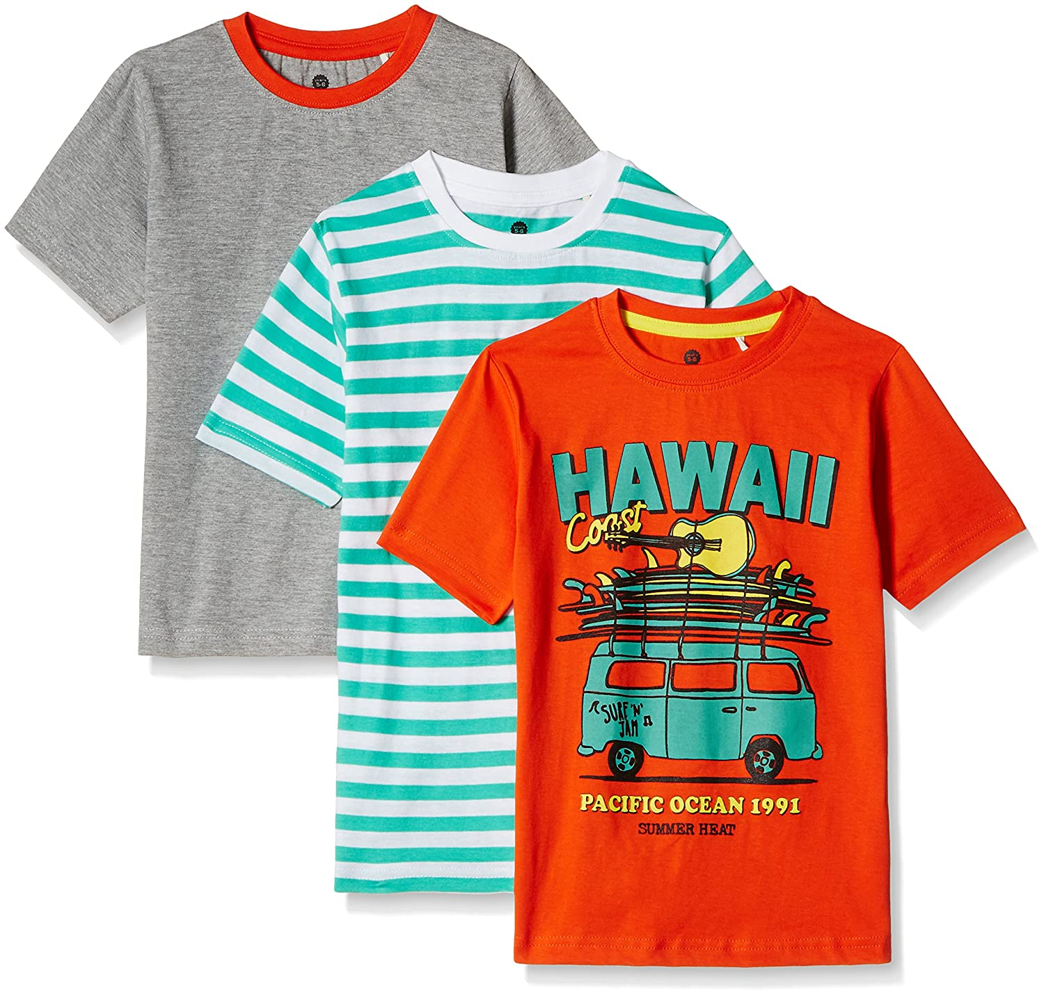 Cloth Theory Boys' T-Shirt (Pack of 3) from Rs 300 at Amazon