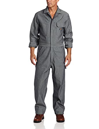 amazon com dickies men s long sleeve cotton coverall overalls and
