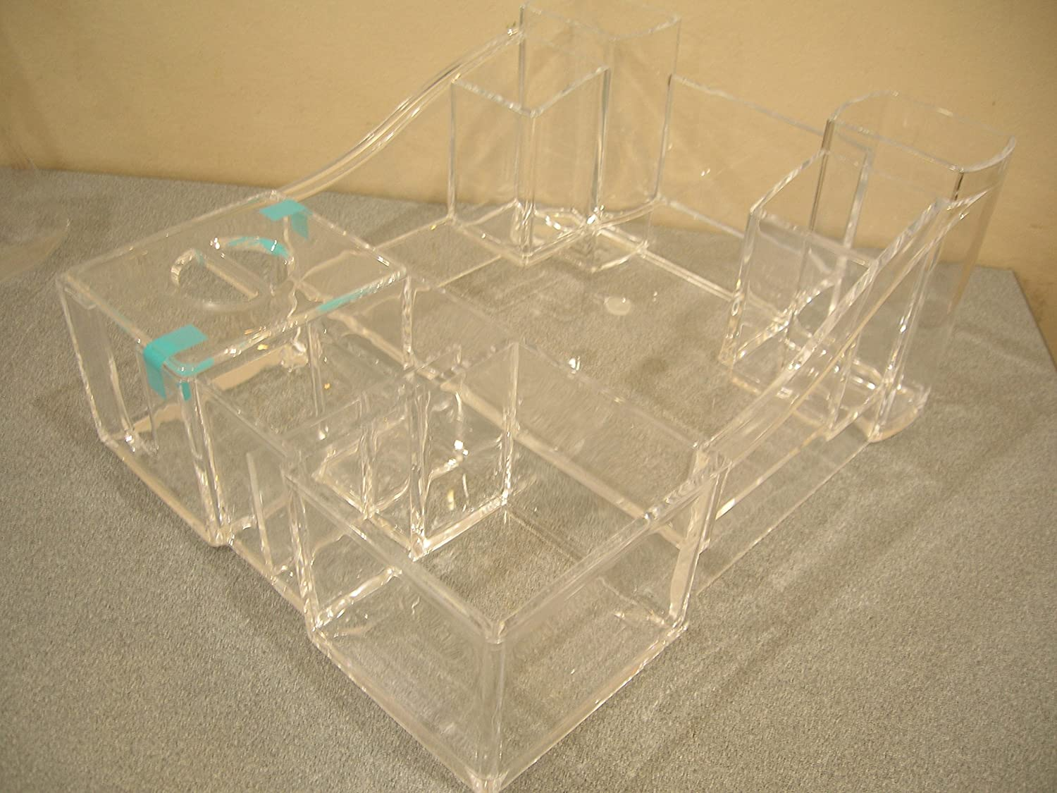 Caboodles Cosmetic Counter Acrylic Tray Organiser | Clear 585802