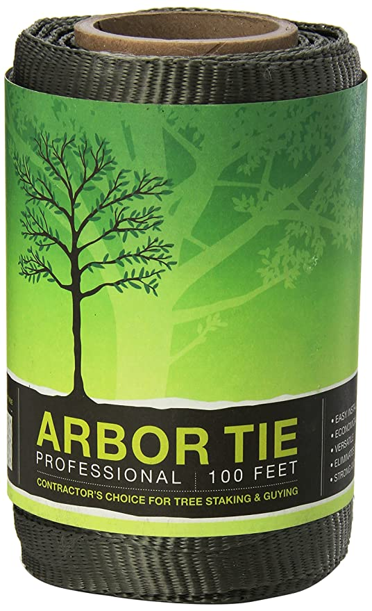 Amazon.com : DeepRoot Arbortie Staking and Guying Material, 100-Feet ...