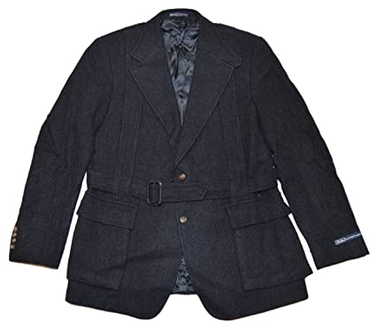 Amazon.com: Polo Ralph Lauren Mens Hacking Blazer de lana ...