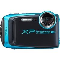 Fujifilm XP120 Cámara Finepix, Zoom Óptico de 5X, Color Azul Cielo