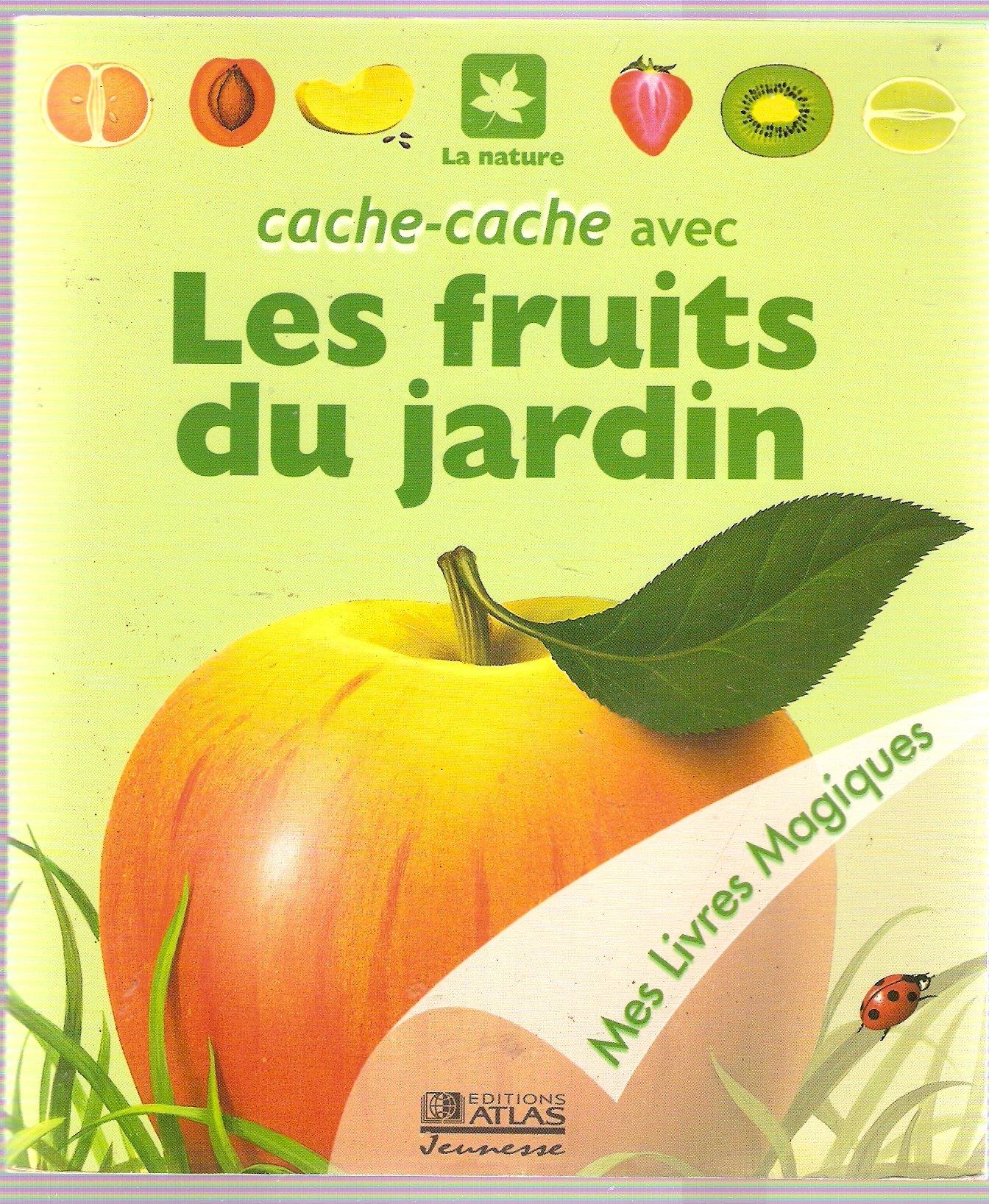 Amazon Cache cache avec les fruits du jardin Mes livres