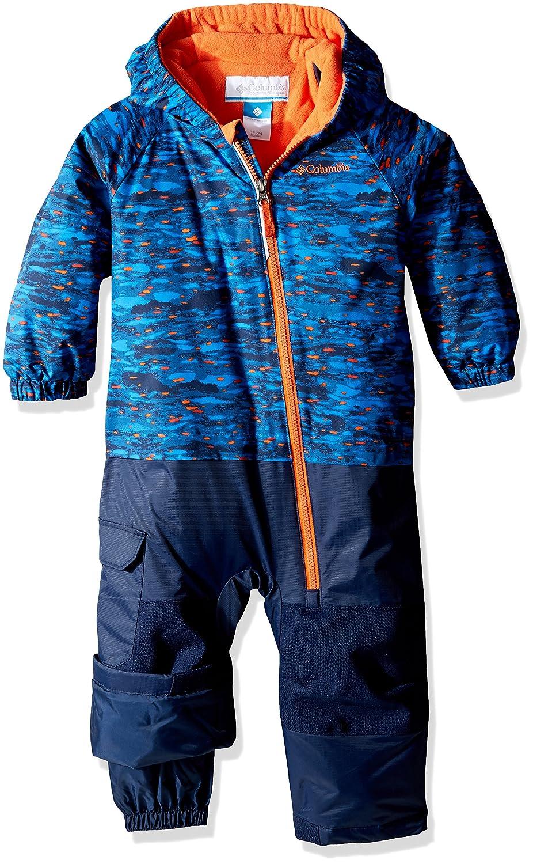 Columbia Kid 's Little Dude Trajes–Super Blue Print, Talla 3/6 Columbia Sportswear company 1619052438