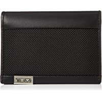 TUMI - Alpha Gusseted Card Case Wallet with RFID ID Lock for Men - Black Chrome