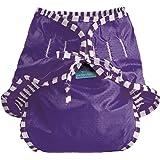 Kushies Baby Unisex Swim Diaper, Purple Solid, Small